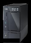 Thecus N2800 :: Гигабитов NAS за 2 HDD, двуядрен Intel Atom процесор, 2 GB RAM, USB 3.0, VGA+HDMI