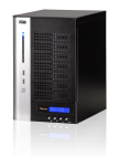 Thecus N7700PRO V2 :: 10 GbE ready NAS устройство за 7 диска, Intel® Core™ 2 Duo, 4 GB RAM