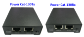 ENCONN PowerCat130T/R :: PoE + Ethernet extender, 10/100 Mbps, 300 m max, Cat. 5e/6