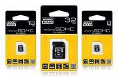 GOODRAM SDU32GHCAGRR10 :: 32 GB Micro SDHC карта с SD адаптер, Class 4