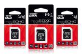 GOODRAM SDU8GHCUHS1AGRR10 :: 8 GB MicroSDHC карта с адаптер, Class 10, UHS-1
