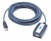 ATEN UE250 :: USB 2.0 удължителен кабел, 5.0 м