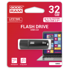 GOODRAM UMM3-0320K0R11 :: 32 GB Flash памет, серия UMM3, USB 3.0