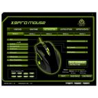KEEP OUT X9PRO :: Геймърска мишка, лазерна, 8200dpi, AVAGO 9800 сензор