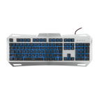 WHITE SHARK GK-1623 :: Gaming keyboard GLADIATOR. Metal