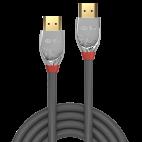 LINDY 37869 :: Кабел HDMI 2.0 Cromo Line, 4K, 60Hz, 30 AWG, 0.3m