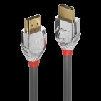 LINDY 37870 :: Кабел HDMI 2.0 Cromo Line, 4K, 60Hz, 30 AWG, 0.5m