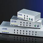 VALUE 14.99.3274 :: Автоматичен KVM Switch, 1x User към 4x PCs, тип PS/2, Desktop