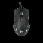 WHITE SHARK GM-5003 :: Геймърска мишка Azarah, 6400dpi, Черна